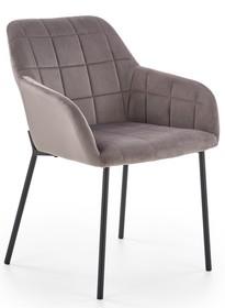 Krzesło K305 - czarny / popielaty
