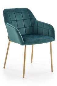 Krzesło K306 - ciemny zielony