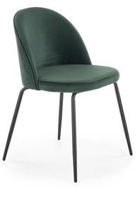 Krzesło K314 - ciemny zielony