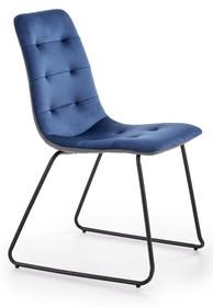 Krzesło K321 - granatowy