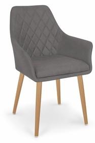 K343 krzesło popielate
