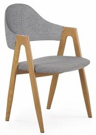 K344 krzesło popielate
