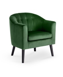 Fotel wypoczynkowy MARSHAL - ciemny zielony