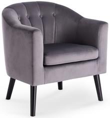 MARSHAL fotel wypoczynkowy popielaty