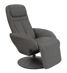OPTIMA 2 recliner popielaty tkanina