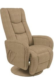 PULSAR 2 recliner z funkcją masażu beżowy