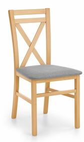 Krzesło DARIUSZ - dąb miodowy/szary