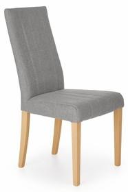 Krzesło DIEGO - dąb miodowy/jasny popiel