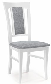 Krzesło KONRAD - biały/tap. Inari 91