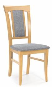 Krzesło KONRAD - dąb miodowy/tap. Inari 91