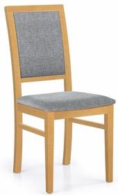 Krzesło SYLWEK 1 - dąb miodowy/Inari 91