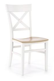 Krzesło TUTTI - biały/dąb miodowy