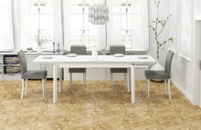 Stół rozkładany ROIS 160x90 - biały