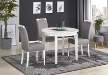 SORBUS stół rozkładany, blat - biały, nogi - białe (2p=1szt)