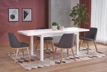 Stół rozkładany TIAGO 2 140x80 - biały