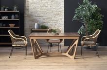Stół rozkładany WENANTY - orzech amerykański