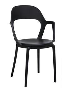 Krzesło FORM ARM - czarny