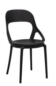 Krzesło FORM - czarny
