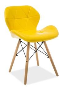Krzesło MATIAS - żółty