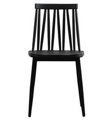 MODESTO krzesło TRAK czarne - polipropylen, metal