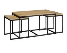 Zestaw stolików LOFT TRIO - dąb
