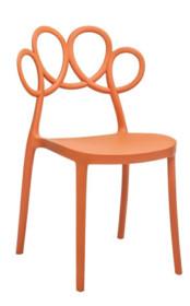 Krzesło LOOPY - brązowy