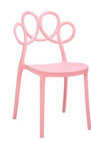 Krzesło LOOPY - różowy