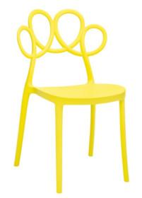Krzesło LOOPY - żółty