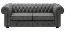 Sofa rozkładana MANCHESTER 3F - skóra naturalna
