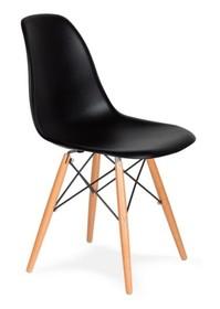 MODESTO krzesło DSW czarne - podstawa bukowa