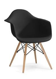 Fotel DAW - czarny