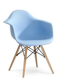 Fotel DAW - jasny niebieski