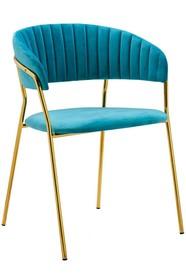 Krzesło MARGO - turkusowy