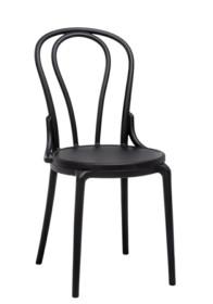 Krzesło TONI - czarny