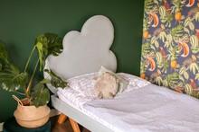 Łóżko tapicerowane CHMURKA
