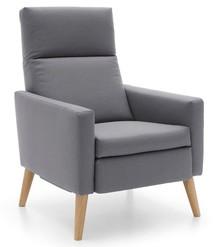Fotel z funkcją relaksu manualnego Kinga - Etap Sofa