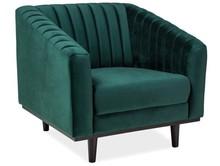 Fotel ASPREY 1 velvet - zielony Bluvel 78