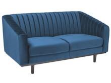 Sofa ASPREY 2 VELVET - granatowy Bluvel 86