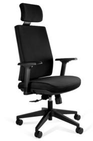 Fotel biurowy SHELL - czarny