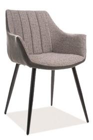 Krzesło BRUNO - szary