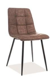 Krzesło LOOK - brązowy