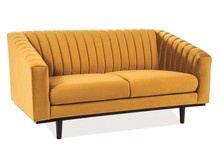 Sofa ASPREY 2 VELVET - curry Bluvel 68