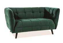 Sofa CASTELLO 2 VELVET - zielony Bluvel 78