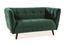 Sofa CASTELLO 2 VELVET - zielony Bluvel 78
