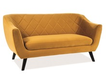 Sofa MOLLY 2 VELVET - curry Bluvel 68