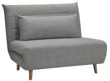 Fotel rozkładany SPIKE - szary