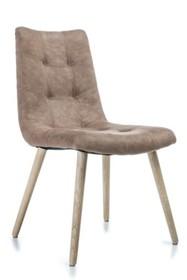 Krzesło MISENO - brązowy