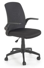 Fotel biurowy SECRET - czarny