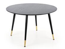 Stół okrągły EMBOS - czarny