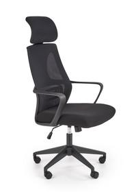 Fotel biurowy VALDEZ - czarny
